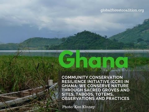 Community Conservation Resilience Initiative in Ghana
