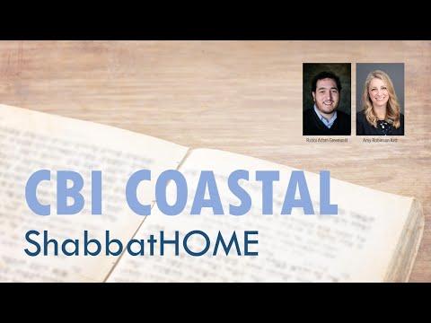 ShabbatHOME CBI Coastal With Rabbi Adam Greenwald