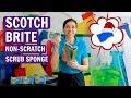 Scotch Brite Non-Scratch Scrub Sponge Product Review