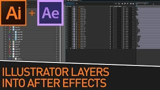 Preparing Illustrator Layers to Animate In After Effects