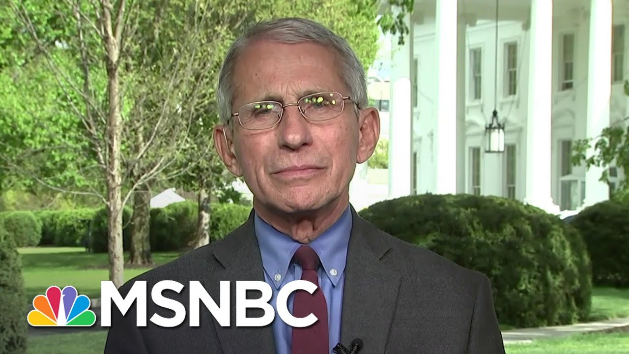 "Anthony Fauci: ""We could start talking about real normality again ..."