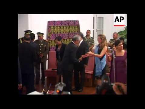 Prime Minister Xanana Gusmao takes oath of office