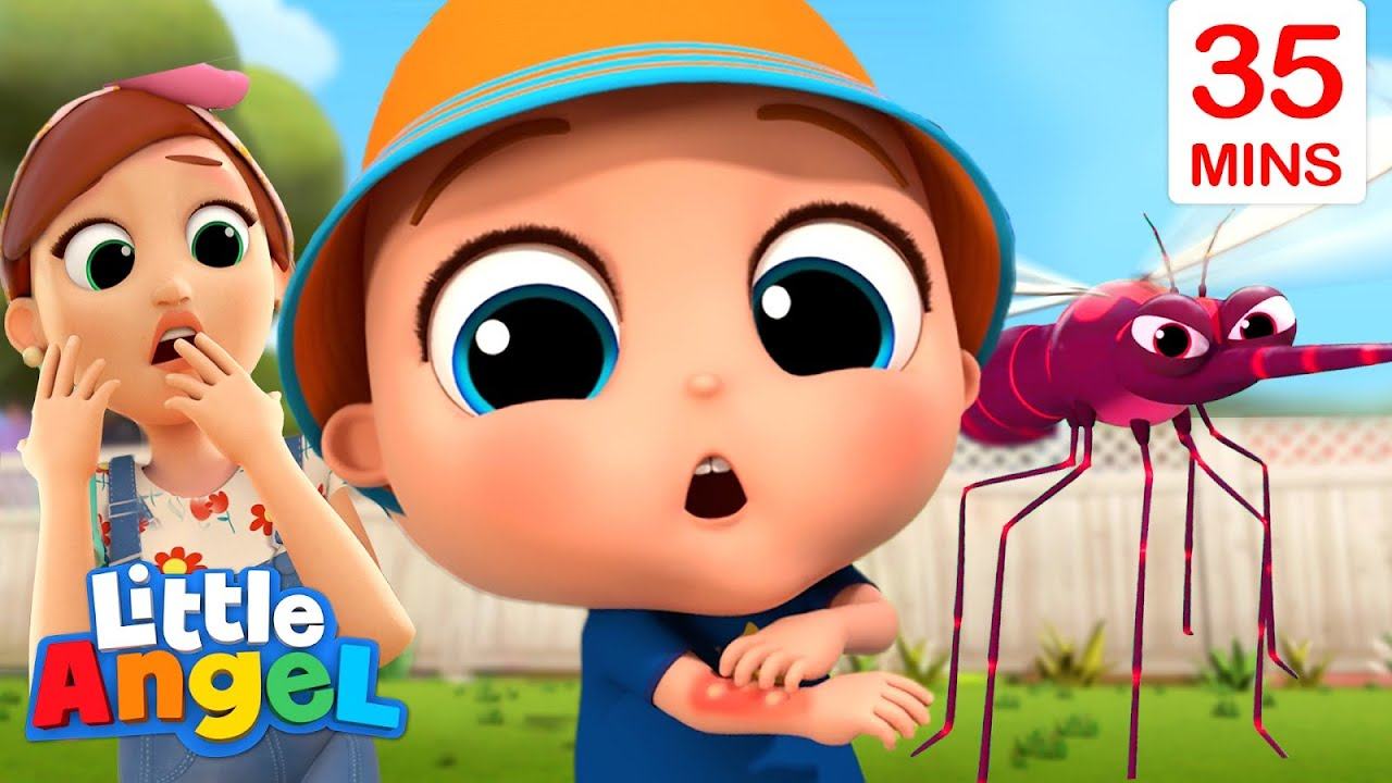 I'm So Itchy | Baby John Songs + More Little Angel Nursery Rhymes And Sing Alongs