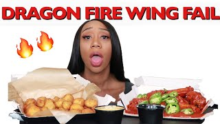 BUFFALO WILD WINGS DRAGON FIRE WING CHALLENGE FAIL