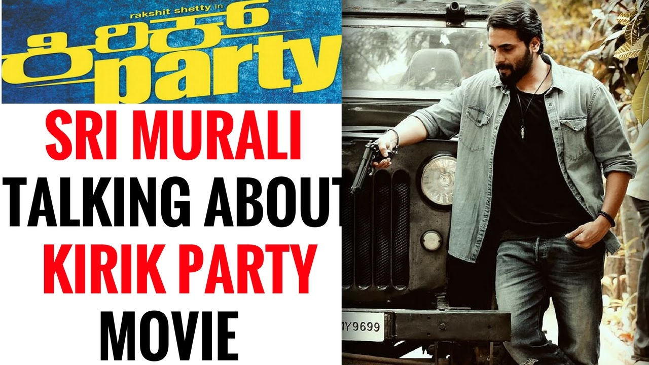 Roaring Star Sri Murali Talking About Kirik Party Movie Premiere