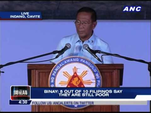 VP Binay delivers counter-SONA