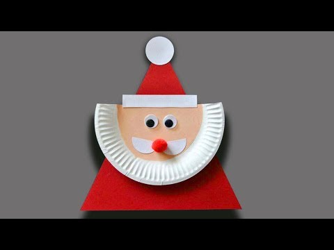 Christmas Craft Ideas Using Paper Plates