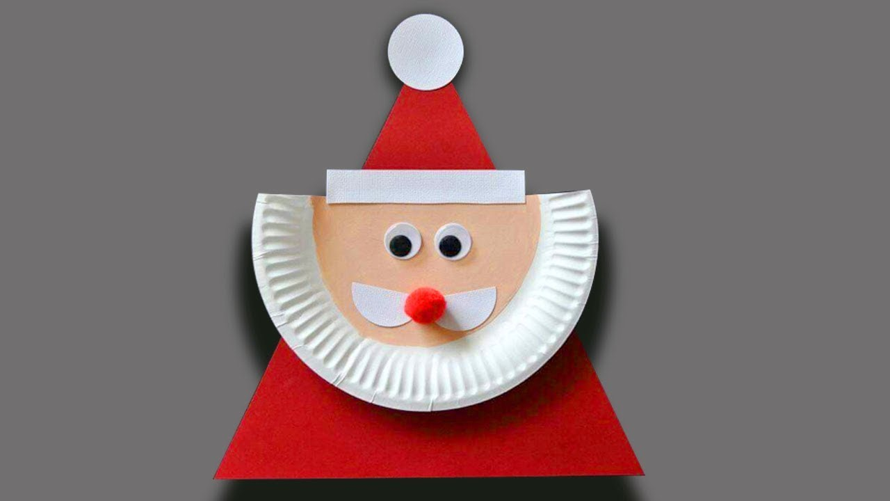 5 Christmas Craft Ideas Using Paper Plates Christmas Ornament