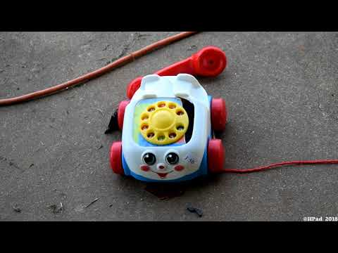 Fisher Price Chatter Telephone Toy Destruction
