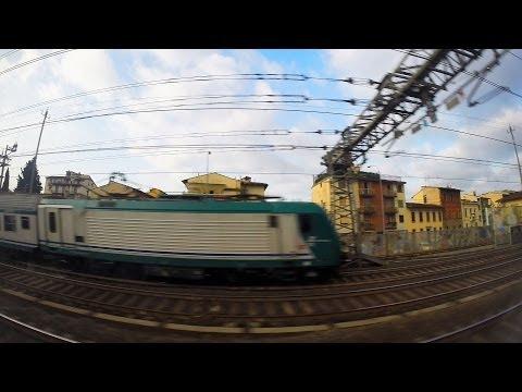 Florence S.M. Novella to Rome Terminal: Full Ride - Frecciargento ETR 600 - GoPro Hero 3+