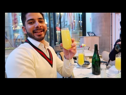 VLOG | Louis Vuitton Keepall FFITIN Organiser & Getting DRUNK on Mimosas!