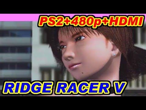 [PS2] 強制480p+HDMI変換 [リッジレーサーV]