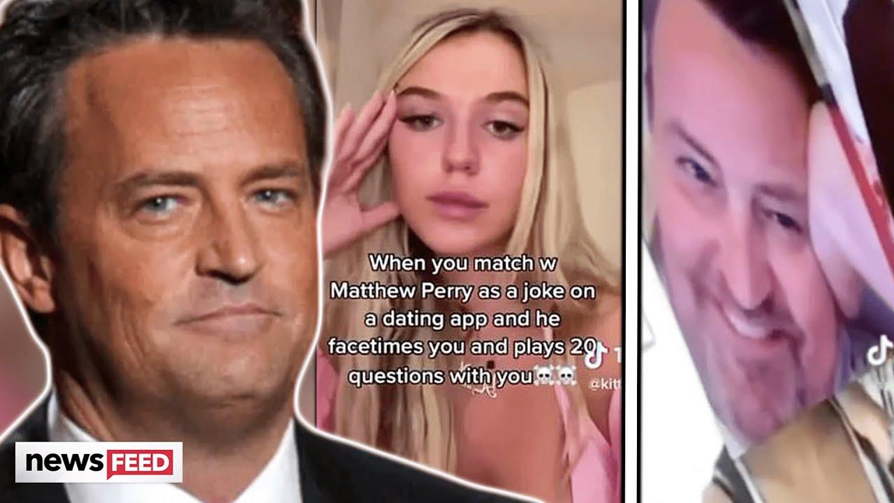 TikToker SLAMMED For EXPOSING 'Friends' Star On Dating App!