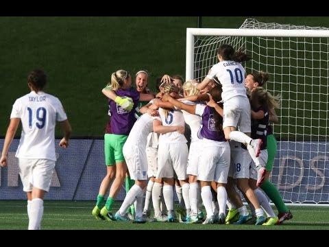 Inglaterra (2) vs (1) Noruega   Mundial Femenino Canadá 2015