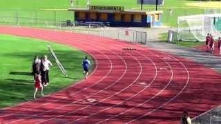 Middle School Mile Run 4-26-13