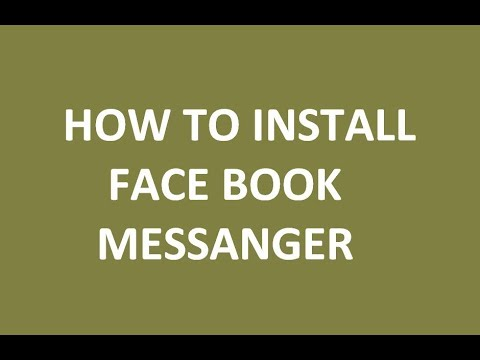 how to use messenger on facebook english