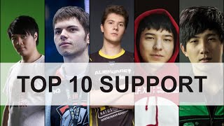 Top 10 Support Player Dota 2