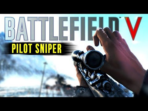 SNIPING ON BATTLEFIELD 5 - Multiplayer Gameplay