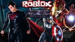 DC VS MARVEL! | Avengers End Game | EP 2 (Roblox Avengers Roleplay)