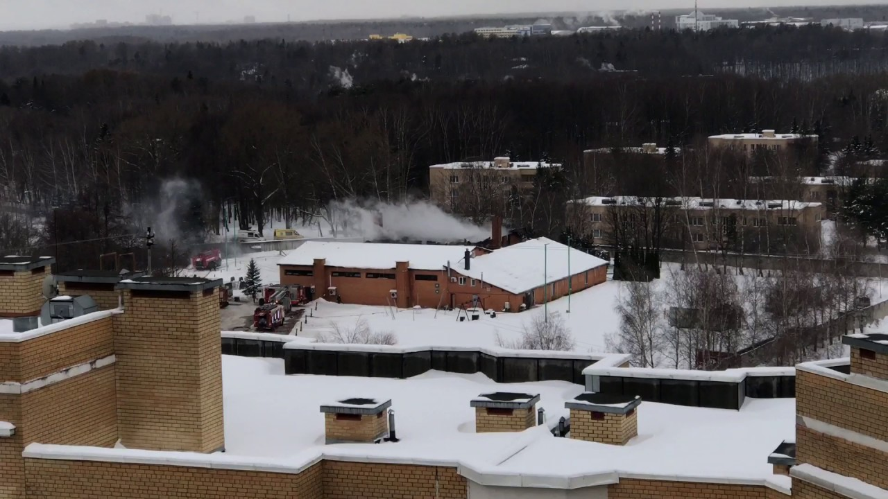 Пожар в д. Черная Грязь 13.01.2016 - YouTube