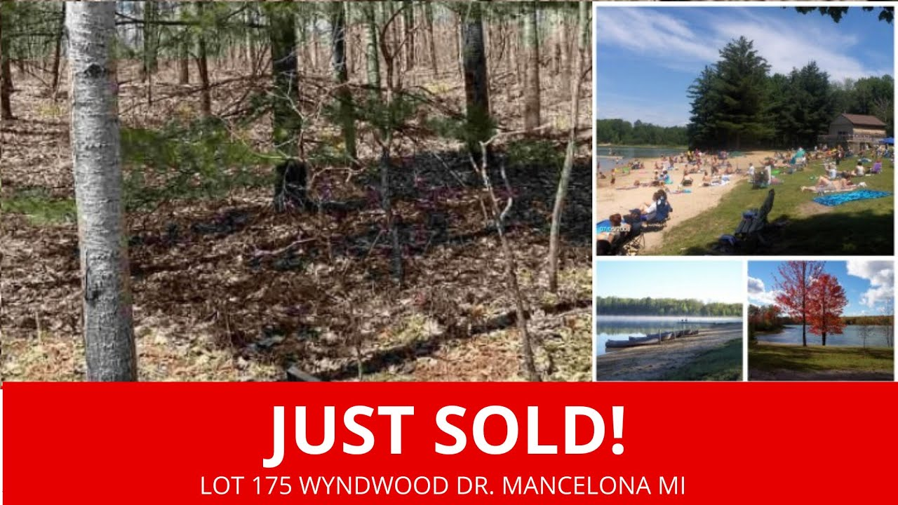 Lot 175 Wyndwood Dr. Mancelona MI - Wholesale Land For Sale Michigan - www.WeSellNewYorkLand.com