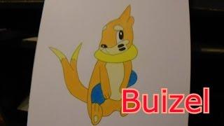 Buizel-Pokemon Drawing