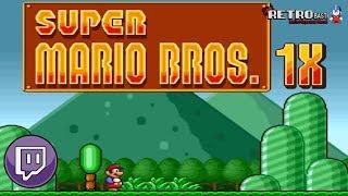Livestream ► Super Mario Bros. 1X (SMW Hack) - [GERMAN] - #01 - Livestream vom 11.09.2018 (S-NES)