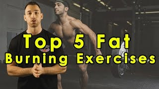 Top 5 Fat Burning Exercises to Lose Belly Fat Fast Best Workout for Weight Loss Cutting Men & Women