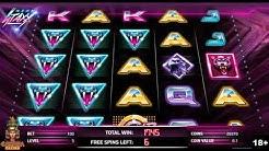 Neon Staxx Online Slot Machine Free Spins Bonus - NetEnt Slots