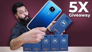 Moto e7 Plus Unboxing & First Impressions | 5x Giveaway ⚡⚡⚡ Pluses and Minuses