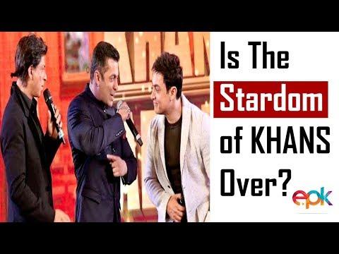 Is the stardom of Khans over? | Shah Rukh Khan | Aamir Khan | Salman Khan Mp3