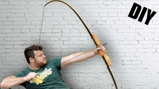 Survival Bow Using Old Skis • How To Make It