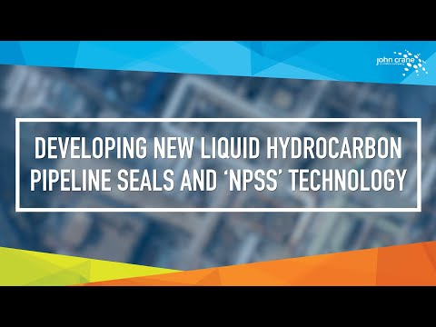 Developing New Liquid Hydrocarbon Pipeline Seals and 'NPSS' Technology