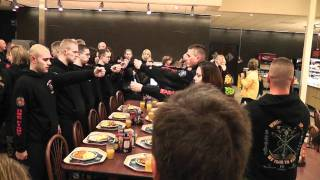 Navy OCS 07-11G Graduation Chow Hall Procedures