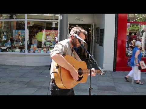 Geraint John Jones - Busking - Where Do You Go To My Lovely (Cover)