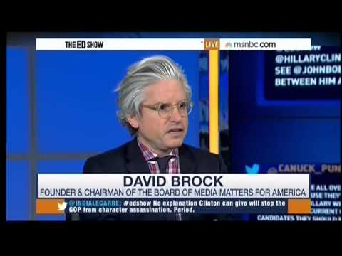 Media Matters founder David Brock on the Republican Agenda to Attack Hillary Clinton