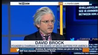 Media Matters founder David Brock on the Republican Agenda to Attack Hillary Clinton
