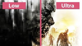 Dying Light – PC Low vs. Ultra Graphics Comparison Preview Version [WQHD]
