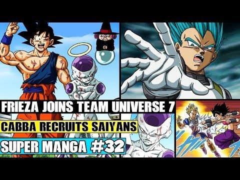 FRIEZA JOINS THE TEAM! Cabba Recruits And Fights Caulfila Dragon Ball Super Manga Chapter 32 Review