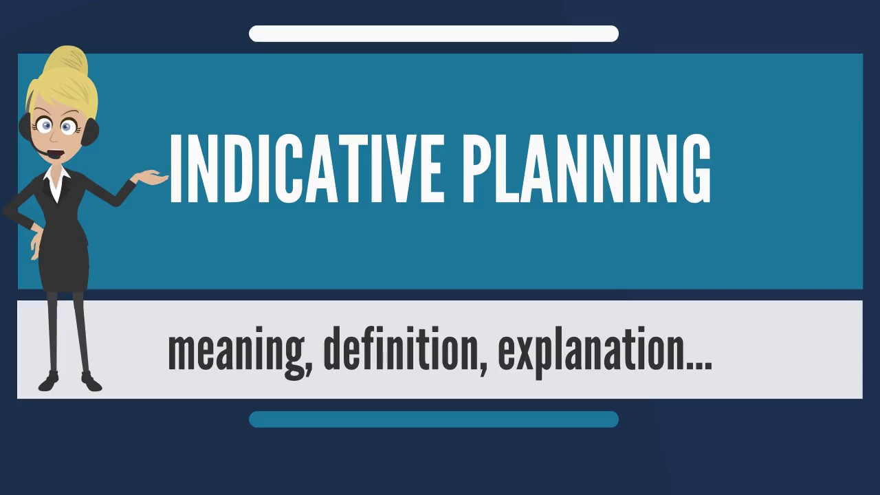 indicative planning