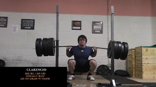 OLYMPIC WEIGHTLIFTING MOTIVATION #2: Squat Day