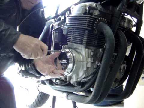 CB750 Ignition Heat