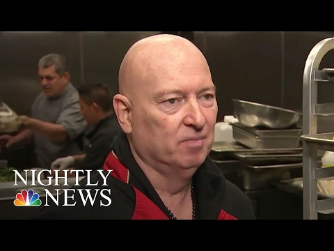 Despite Disastrous Fire, Chef Bruno Continues Mission To Feed Children | NBC Nightly News