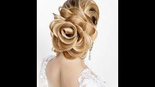 Как сделать розу из волос: шикарная прическа, фото пошагово + видео