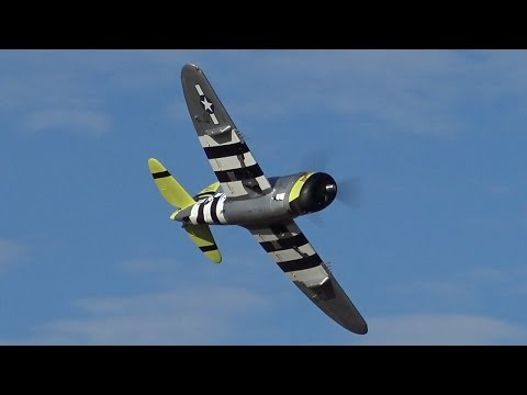 Thumbnail: P-47 Thunderbolt 1/5 Scale With IL100 Kolm Engine