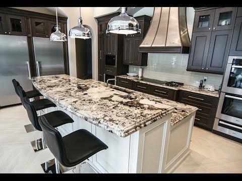 white kitchen countertops oiled bronze faucet delicatus southeast stone orlando youtube