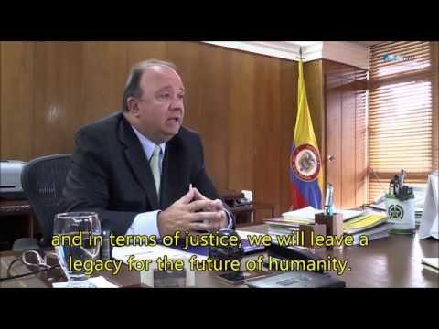 Colombian Defense Minister Luis Carlos Villegas Speaks on Peace