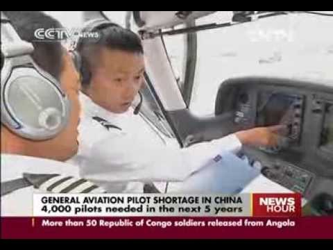 4,000 pilots needed in the next 5 years in China