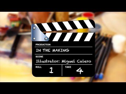 Entrevista a Miguel Calero - llustrador de Touch of Classic - Apps para niños