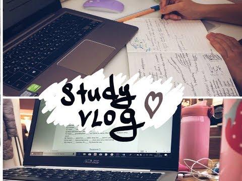 StudyVlog: ЕГЭ по химии, Трекер Привычек и Английский